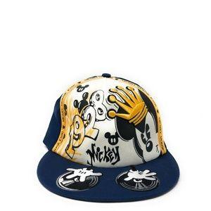 Disney Parks DJ Mickey Mouse Baseball Hat Blue